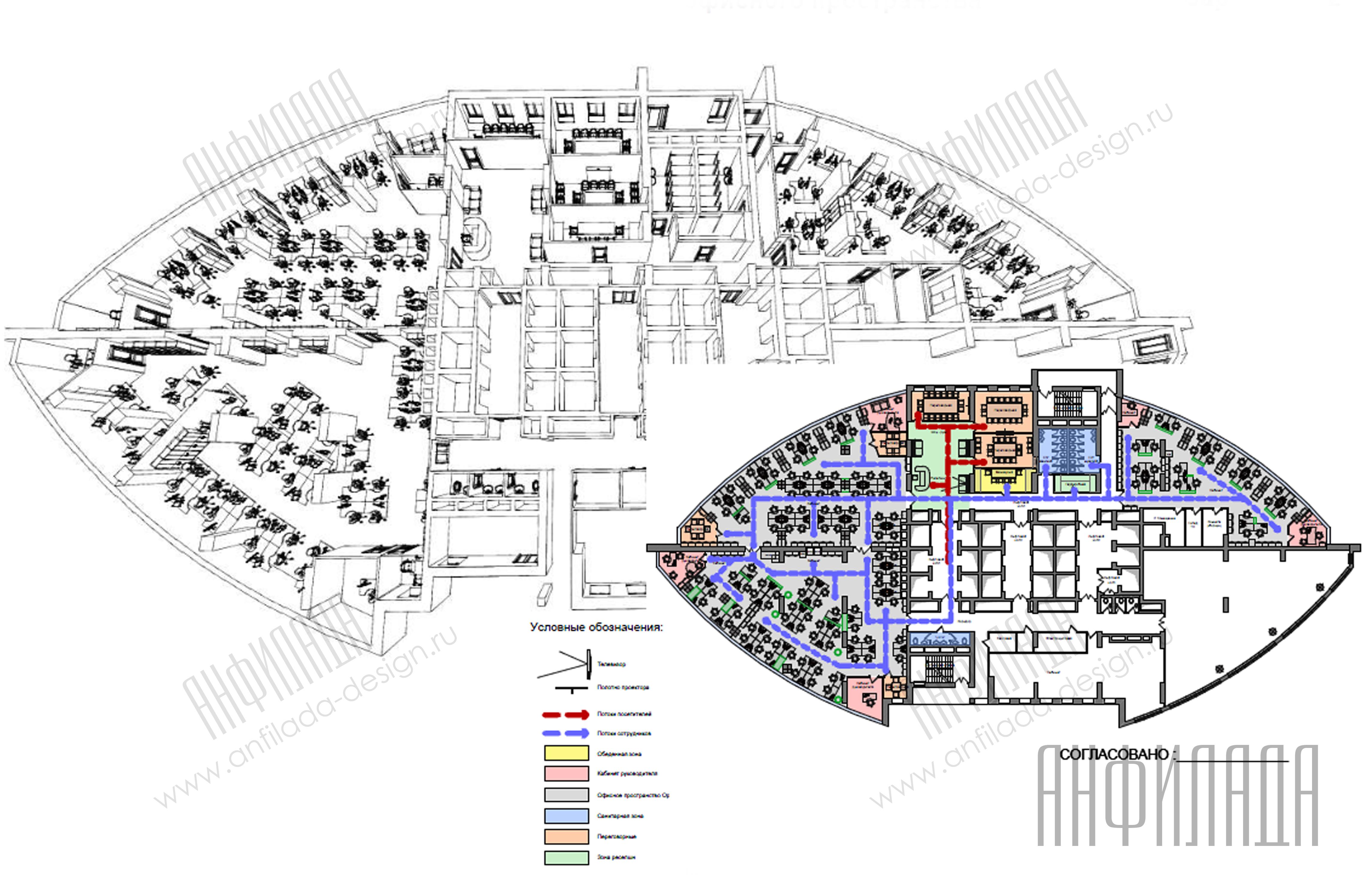 Анфилада план офиса 7