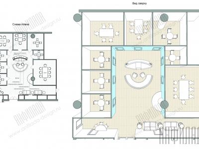 Анфилада план офиса 8