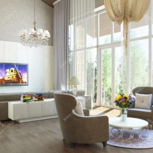 Дизайн дома в стиле Неоклассика