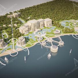 Дизайн проект гостиниц