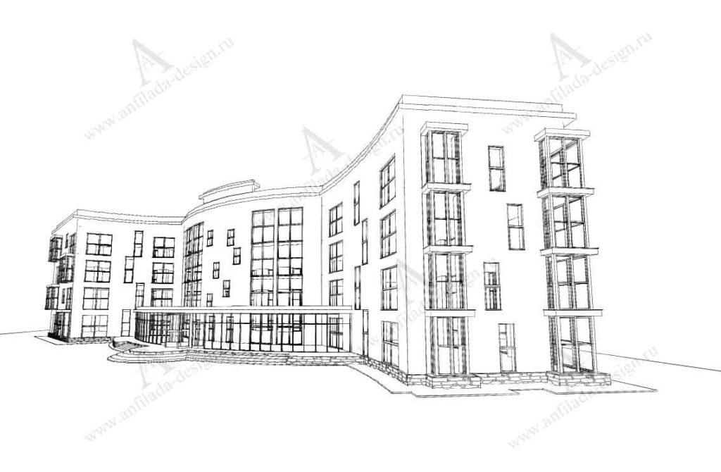 Проект гостиницы
