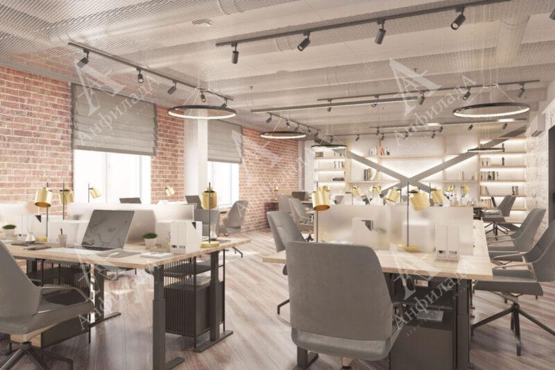Дизайн проект it интерьера офиса