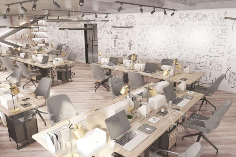 Дизайн проект it офиса