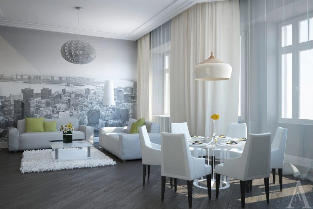 Проект квартиры в стиле Неоклассика