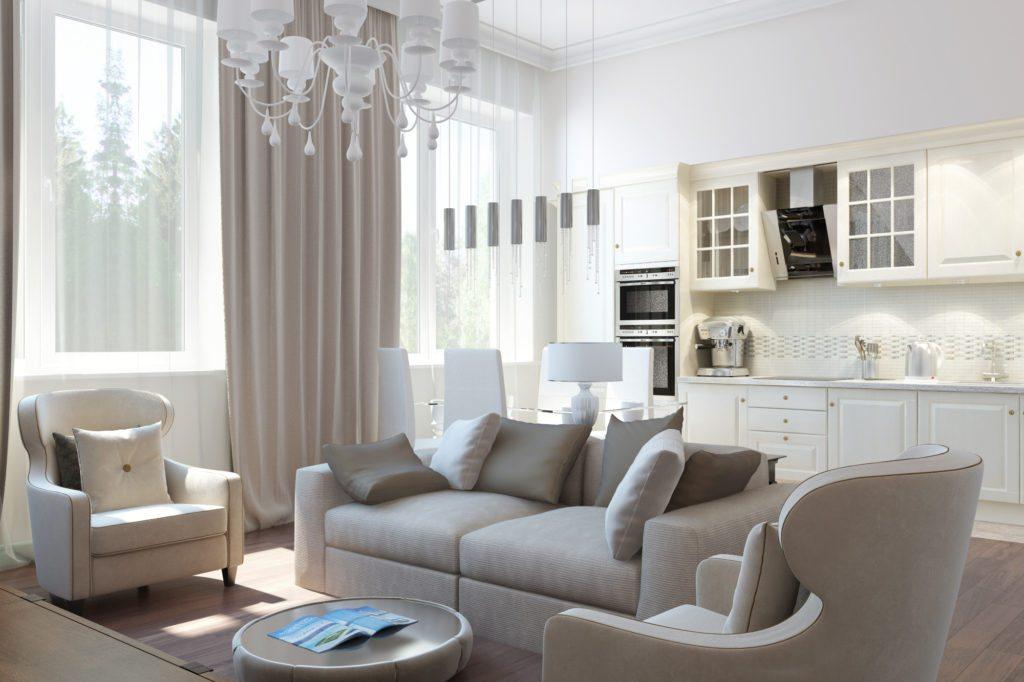 Дизайн квартиры Арт деко