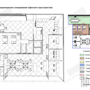 План офиса Москва Сити