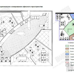 Планировка офиса Москва Сити
