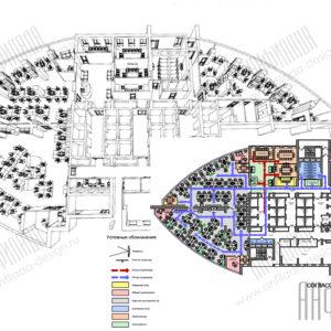 План этажа офиса