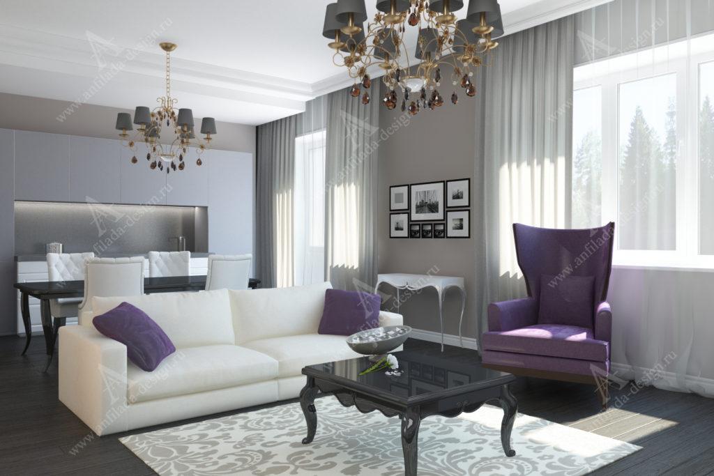 Дизайн квартиры Неоклассика