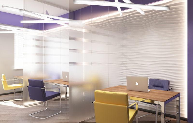 Проект дизайна офиса Переговорная