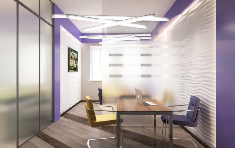 Дизайн мини переговорной офиса.