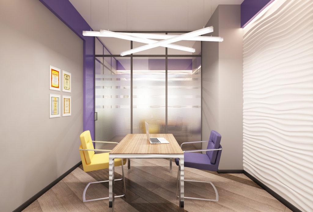 Дизай переговорной комнаты