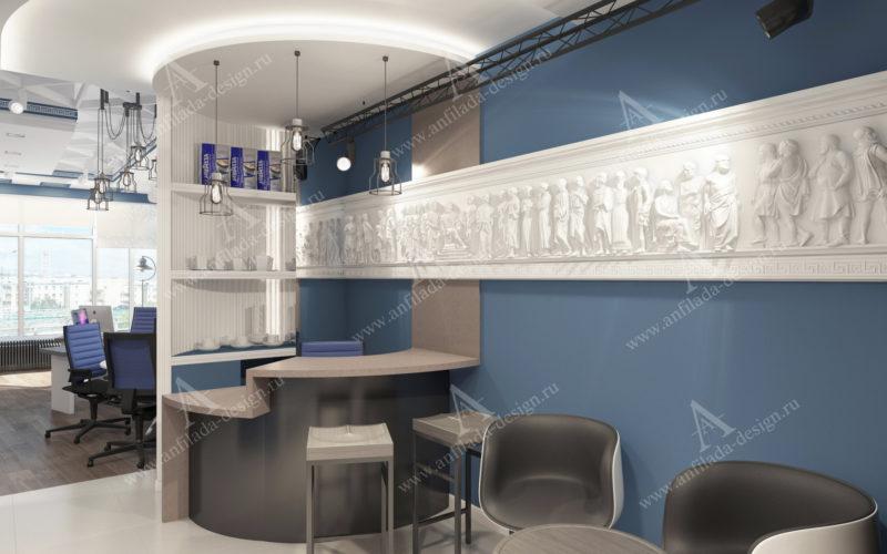 Современный офис Дизайн проект от идеи до реализации