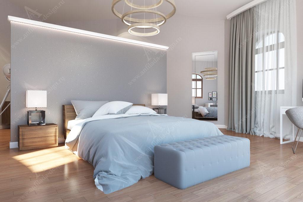 Интерьер спальни должен располагать к комфортному отдыху