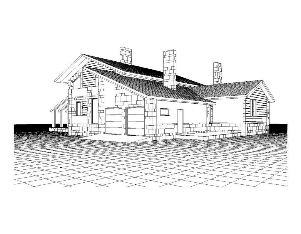 Проект загороднго дома