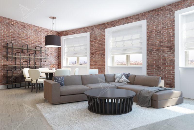Сосременный интерьер квартиры