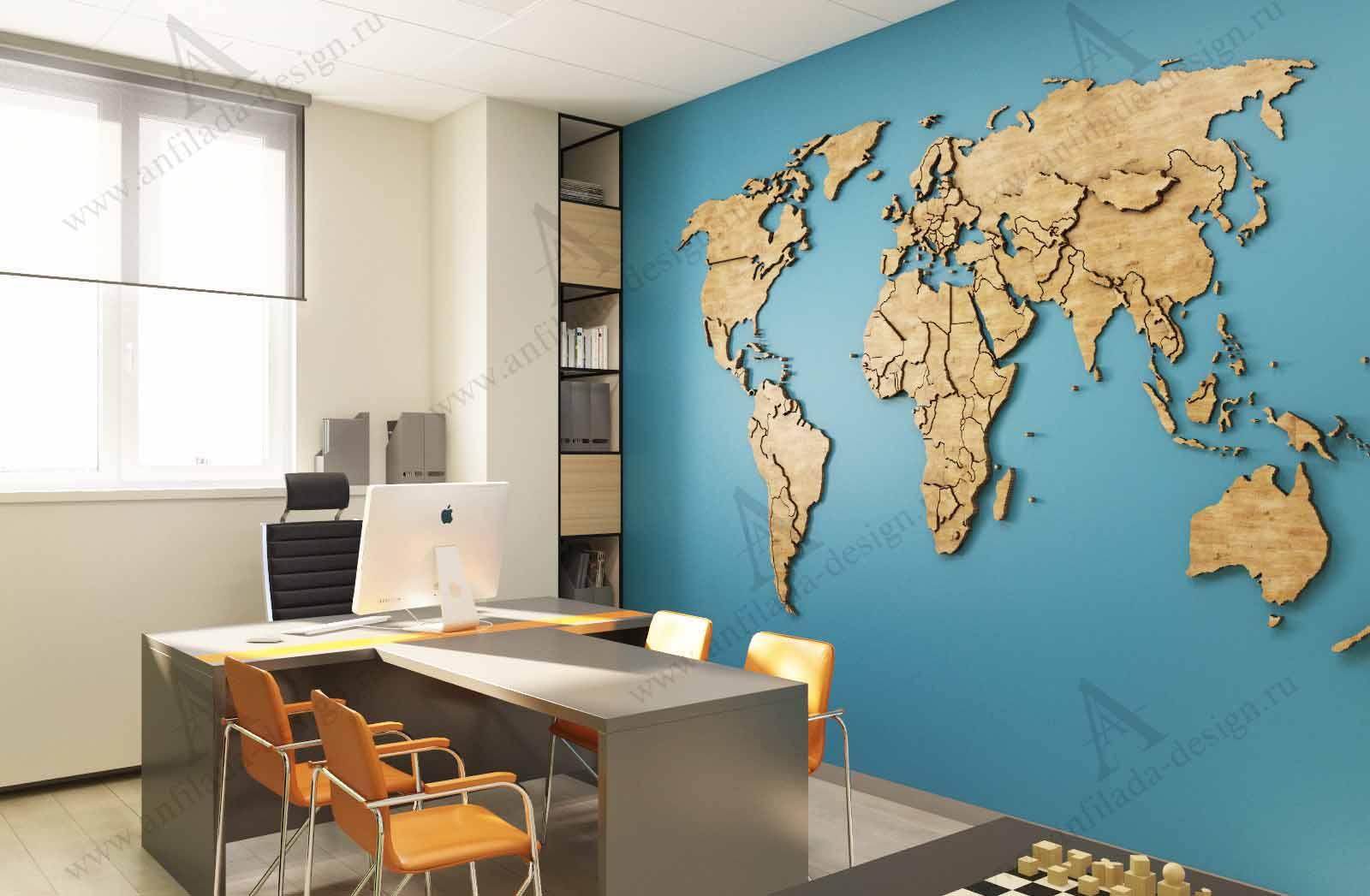 Дизайн проект кабинета руководителя