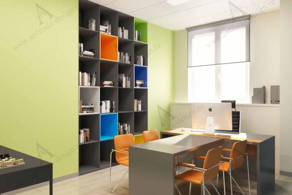 Дизайн кабинета коммерческого директора