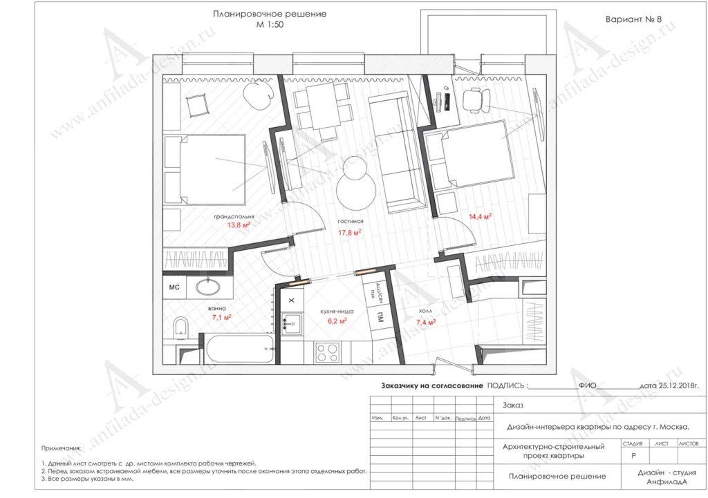 Планировочное решение квартиры