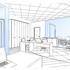 Дизайн интерьера Open Space
