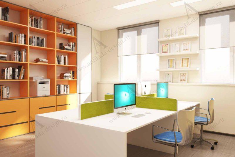 Разработка интерьера офиса