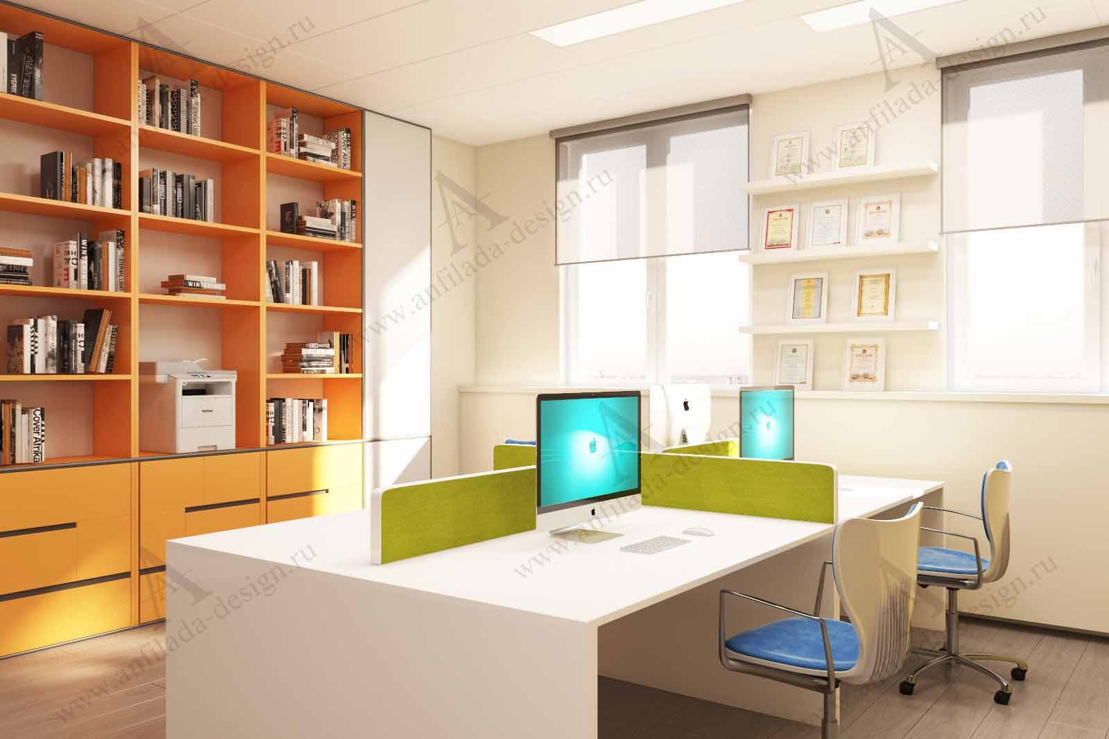 Дизайн интерььера офиса