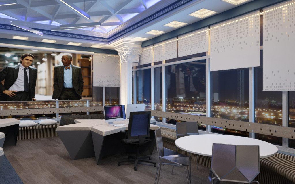 Дизайн современного офиса Open Space