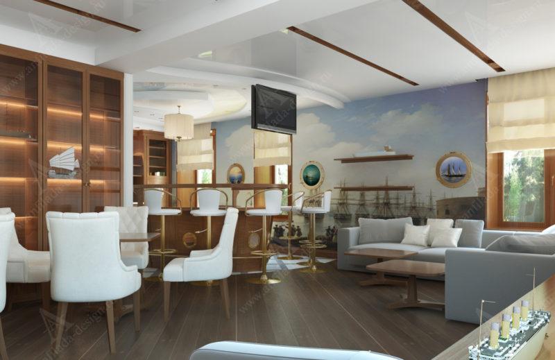 Гостиницы у моря и их интерьеры отражают любовь к путешествиям и красивым морским пейзажам.