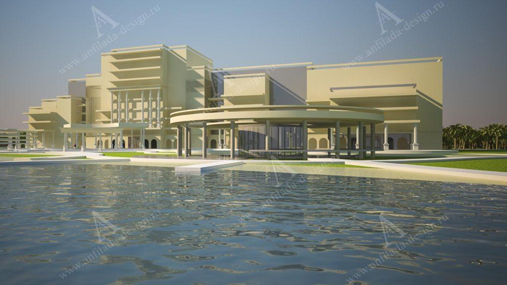 Проекты гостиничного комплекса