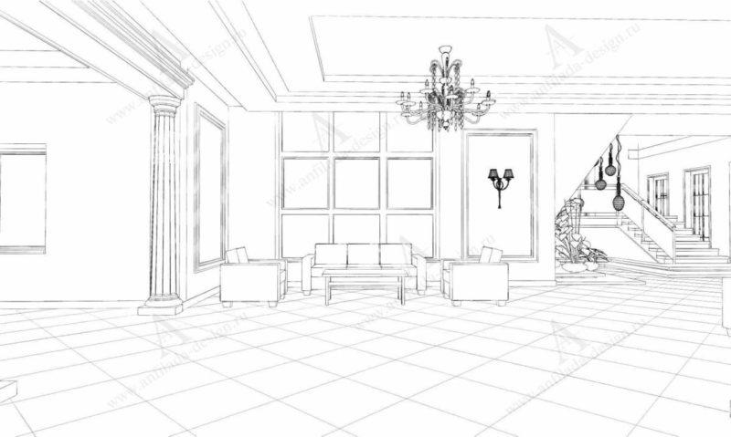 Дизайн лестницы Дизайн лестницы Классической гостиницыгостиницы