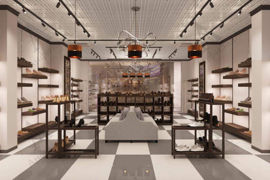 Проект магазина обуви