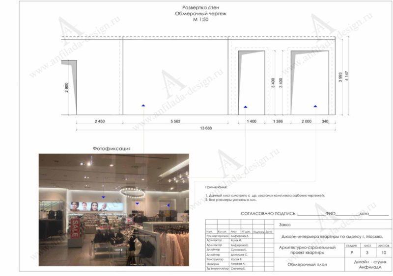 Дизайн современного магазина одежды