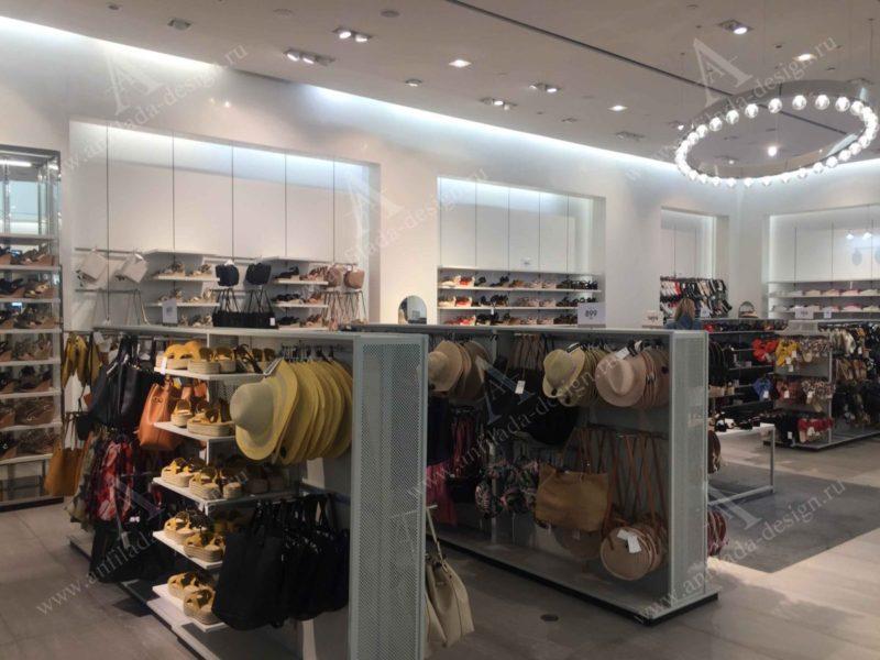 Магазин одежды дизайн проект