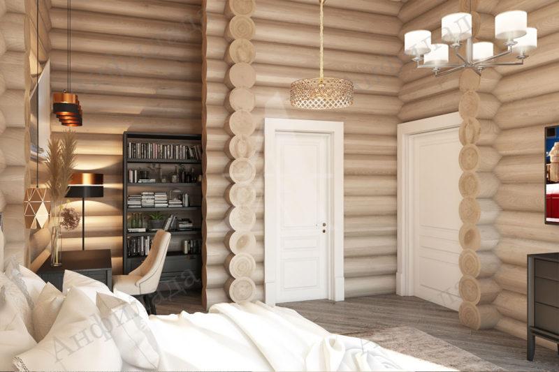 Дизайн проект деревянного дома