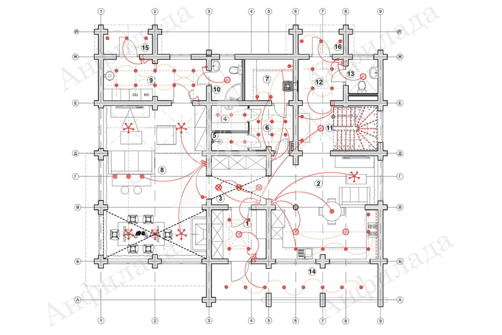 Проект дома рабочаа документация