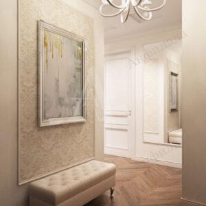 Интерьер квартиры в светлых тонах