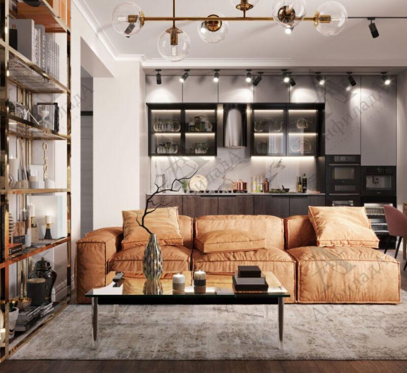 Проект современной квартиры