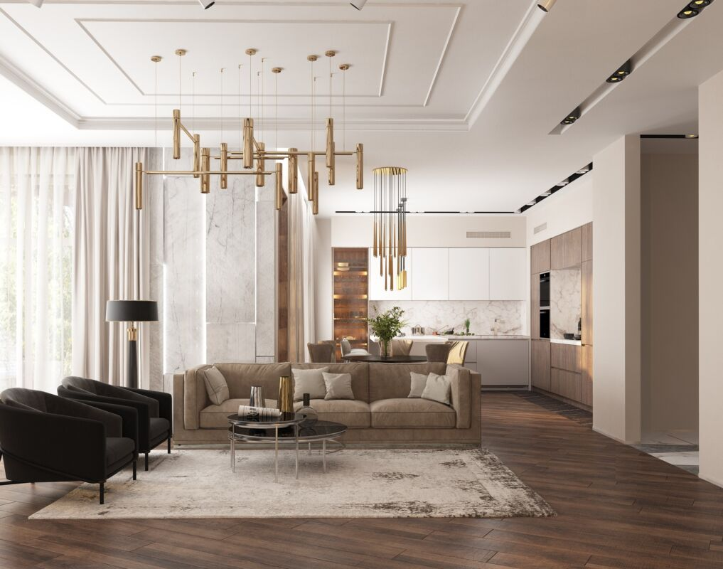 Дизайн интерьера квартиры в стиле Арт Деко