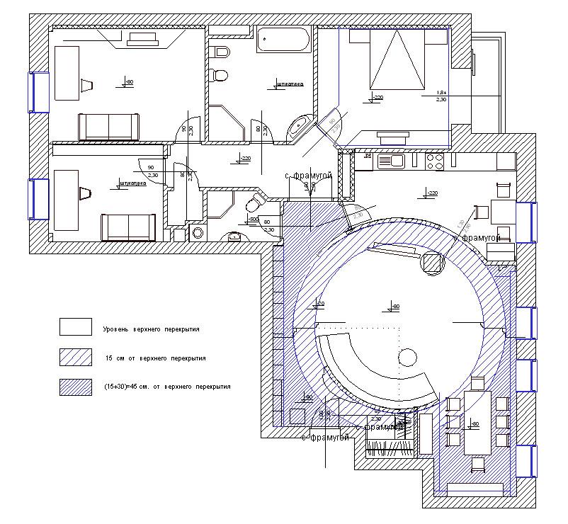 Планировка квартиры в историческом центре